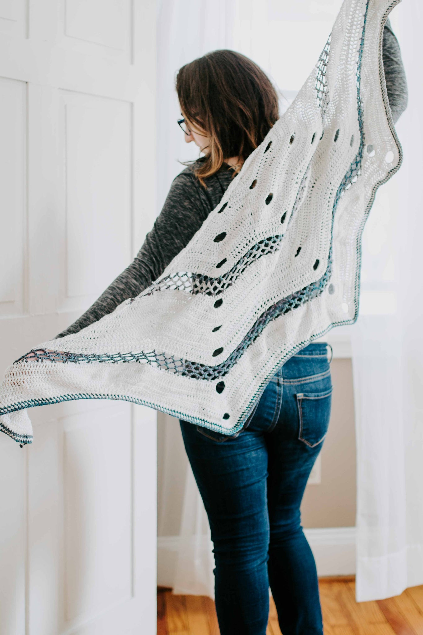 Winterbird Shawl - Crochet Shawl Pattern