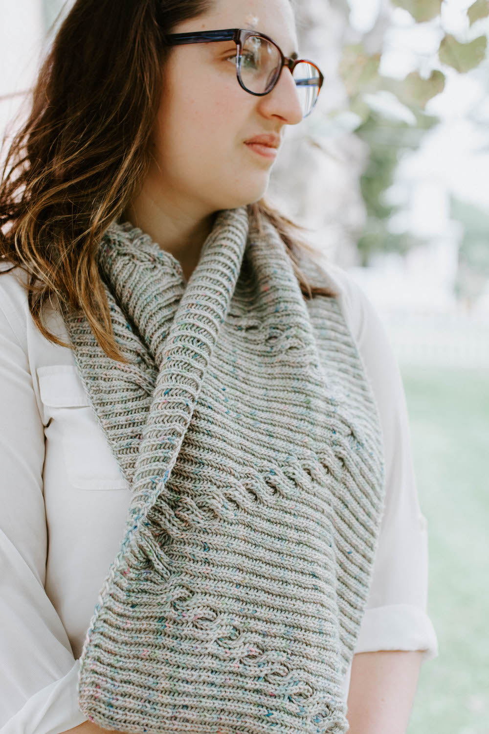 Wandering Ivy Cowl - Knitting Cowl Pattern