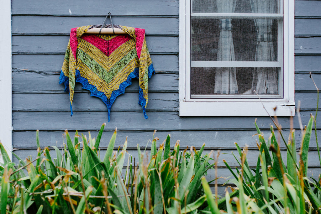 Butterfly - Shawl Knitting Pattern