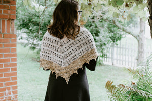 Broken Bones - Shawl Knitting Pattern