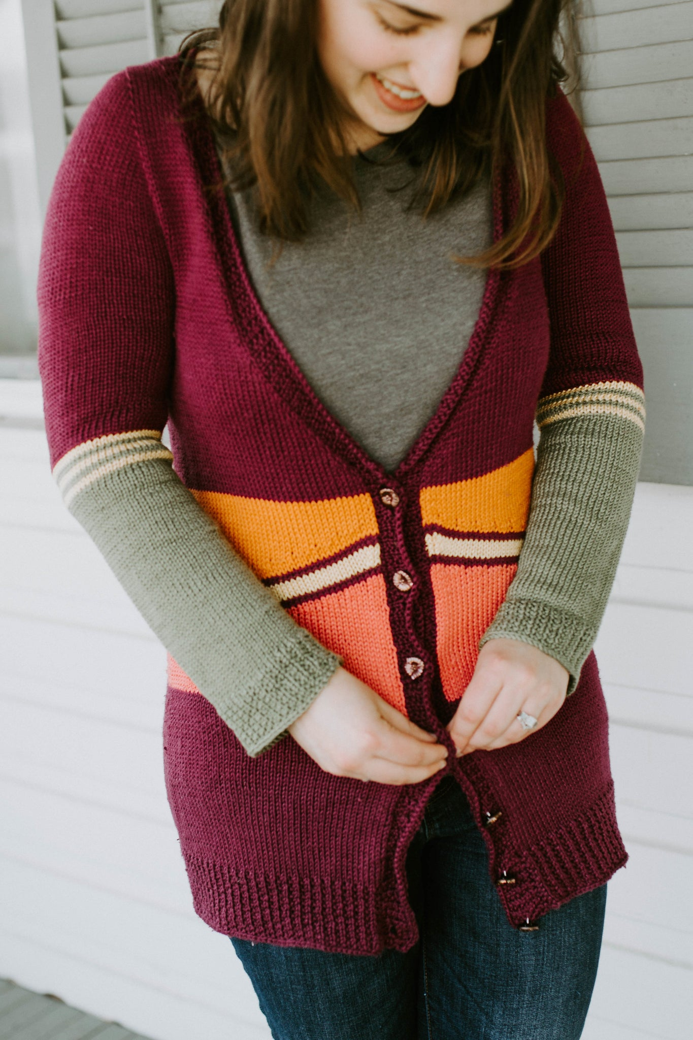Lycaenid Cardigan - Knitting Cardigan Pattern