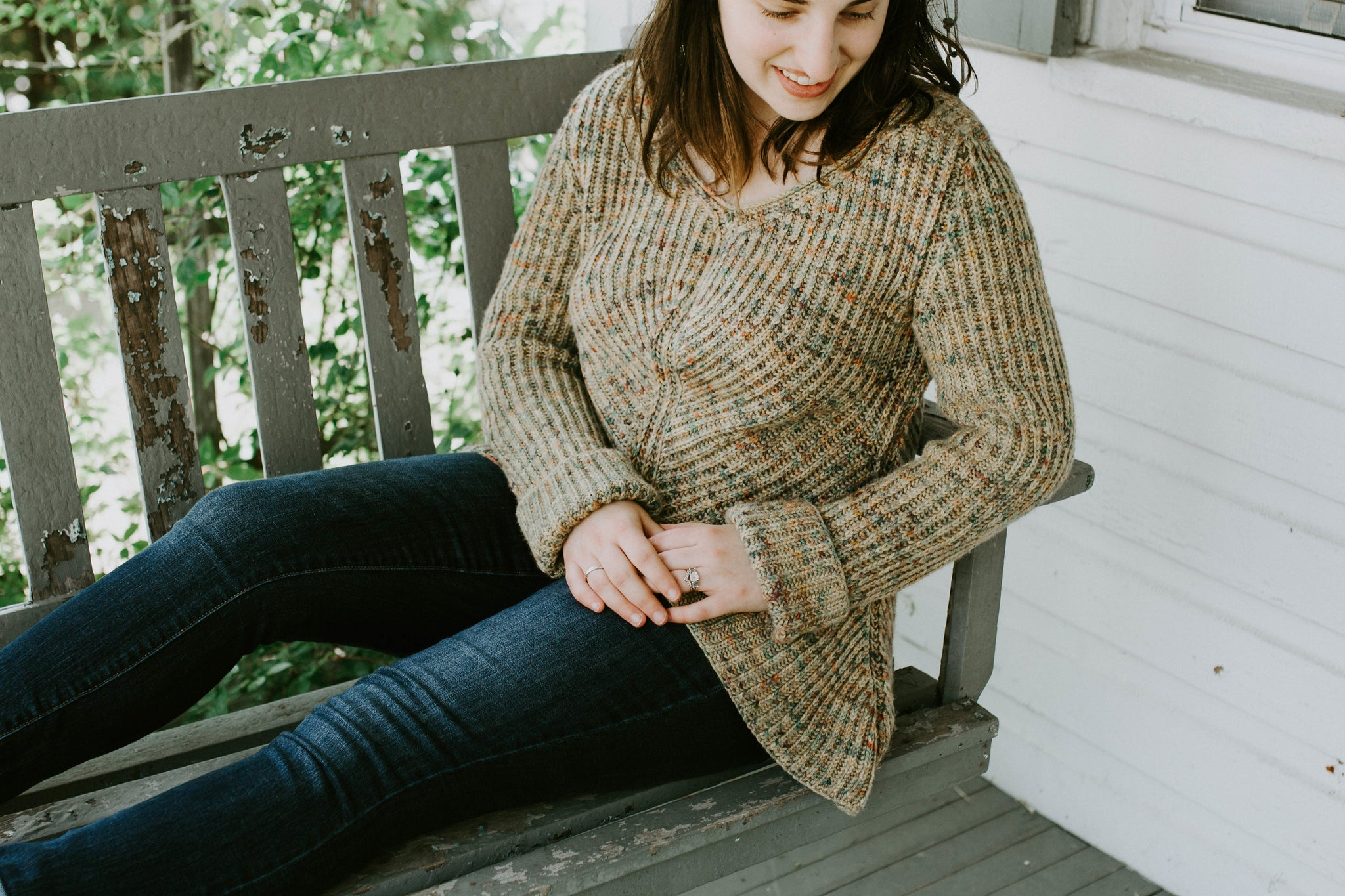 Pinefeather Pullover - Knitting Pattern