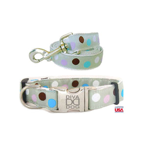 up2dog-divadog-hundehalsband-leinenset-hundegeschirr-leinen-set-metro-collection-punktedesign