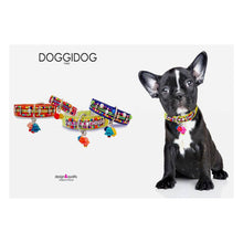 Lade das Bild in den Galerie-Viewer, up2dog-doggidog-paris-hundehalsband-lederhalsband-welpenhalsband-teacup-panama-franzoesischebulldogge