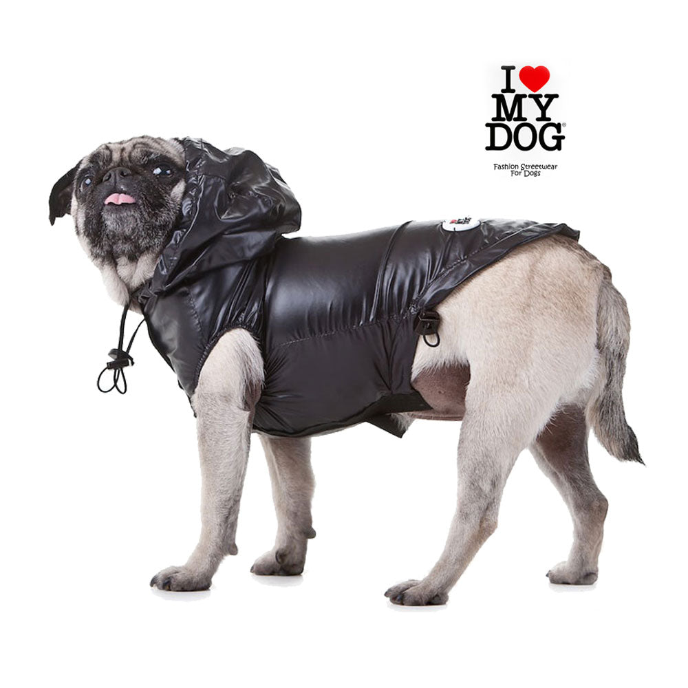 up2dog-ilovemydog-fashionstreetwearfordogs-hunderegenmantel-hundeallwettermantel-regenjacke-dograincoat-teflonbeschichtet-wasserdicht-schwarz