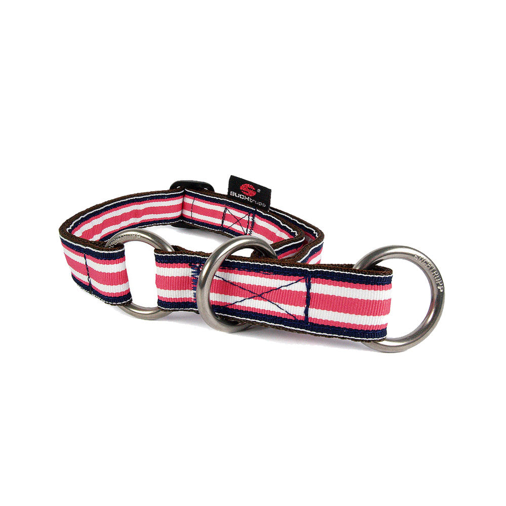 up2dog-suchtrupp-hundehalsband-nylonhalsband-zugstopphalsband-hundehalsung-softwuerger-suchtrupppolocollection-modell-poloberry-himbeer-weiss-gestreift