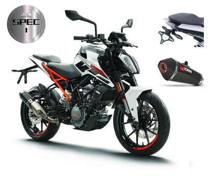 KTM 125 Duke 2020 Spec 1 - ASMShop.no