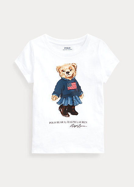 POLO RL - Sweater Bear Cotton Jersey Tee