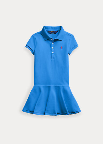 POLO RL - Stretch Mesh Polo Dress