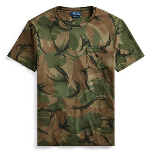 POLO RL - Custom Slim Fit Camo T-Shirt