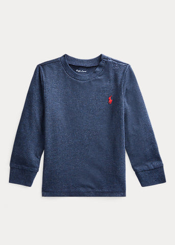 RALPH LAUREN - Cotton Jersey Long-Sleeve Tee