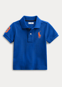 RALPH LAUREN - Big Pony Cotton Mesh Polo