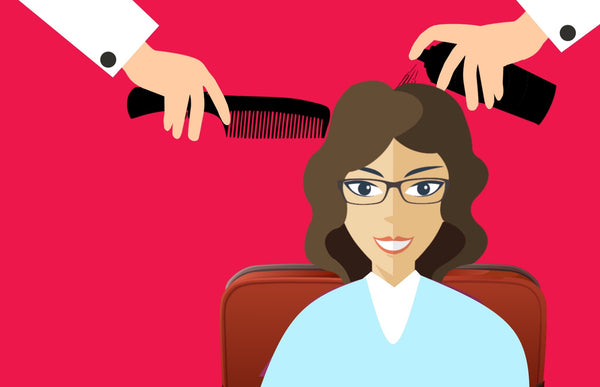 Hair salon services at home