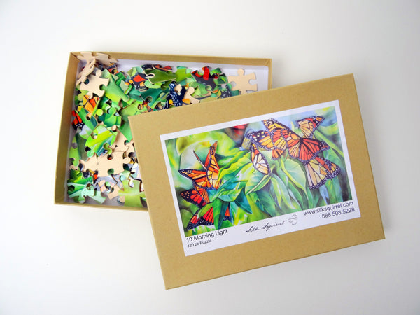 Adult Jigsaw Puzzle - Butterfly Jigsaw Puzzle - Nature Lover Puzzle - Game - 120 Pieces