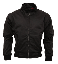 Load image into Gallery viewer, Black Harrington Jacket - GIAN LONDON
