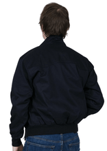 Load image into Gallery viewer, Navy Harrington Jacket - GIAN LONDON