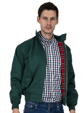 Load image into Gallery viewer, Bottle Green Harrington Jacket - GIAN LONDON