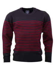 Load image into Gallery viewer, Navy Naval Jumper - GIAN LONDON