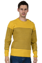Load image into Gallery viewer, Mustard Naval Jumper - GIAN LONDON