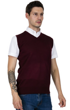Load image into Gallery viewer, Burgundy Tank Top - GIAN LONDON