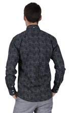 Load image into Gallery viewer, Black Paisley Long Sleeve Shirt - GIAN LONDON