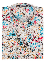 Load image into Gallery viewer, Multi Colour Spiral Pattern Long Sleeve Shirt - GIAN LONDON