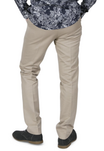 Load image into Gallery viewer, Khaki Sta Press Trousers - GIAN LONDON
