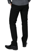 Load image into Gallery viewer, Black Sta Press Trousers - GIAN LONDON