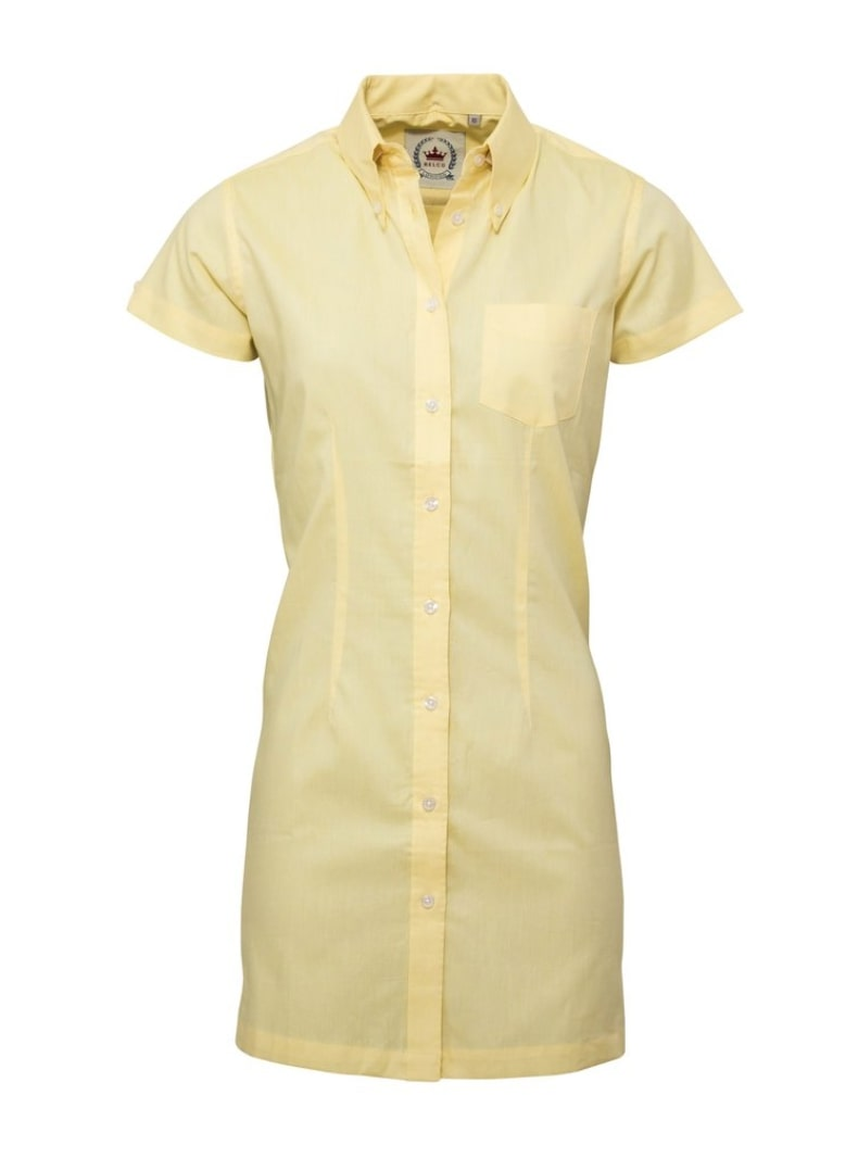 Oxford Lemon Long Dress Shirt - GIAN LONDON