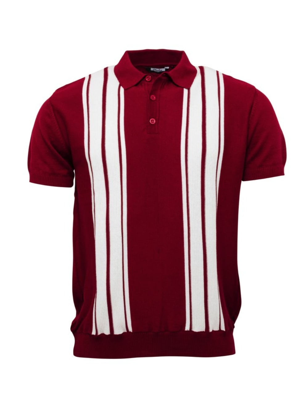 Mens Knitted Short Sleeve Polo Shirts - GIAN LONDON