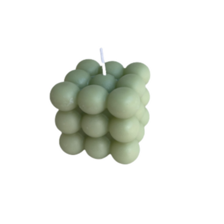 Beeswax Bubble Candles