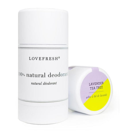 Natural Deodorant - Lavender Tea Tree - Lemon Water Wellness