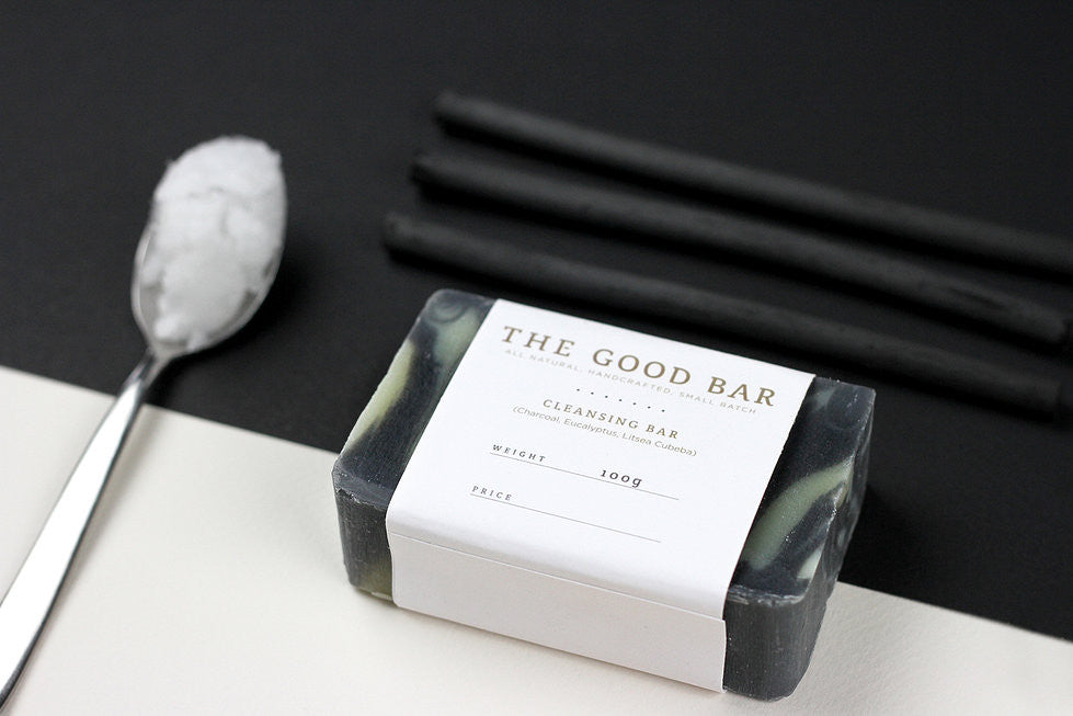 Litsea & Eucalyptus Charcoal Cleansing Bar
