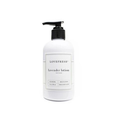 Lavender Hand & Body Lotion - Lemon Water Wellness