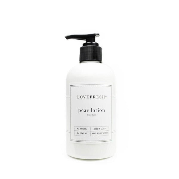 Pear Hand & Body Lotion - Lemon Water Wellness