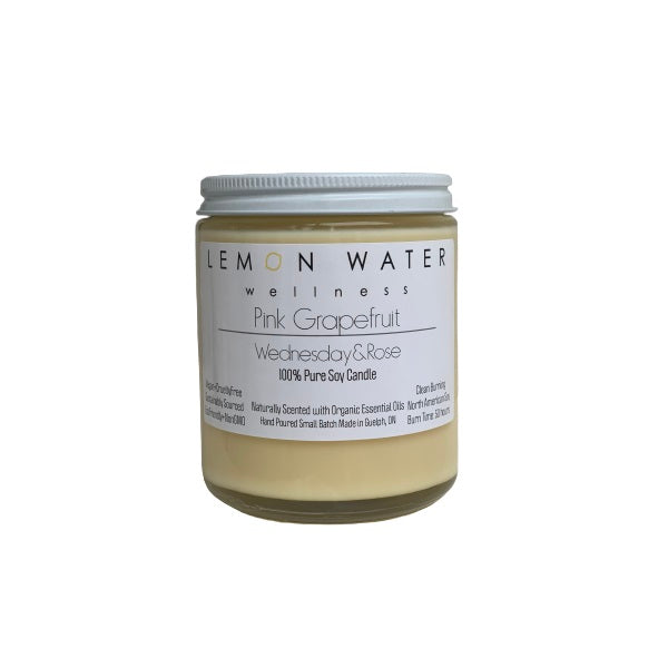 Pink Grapefruit - Pure Soy Candle