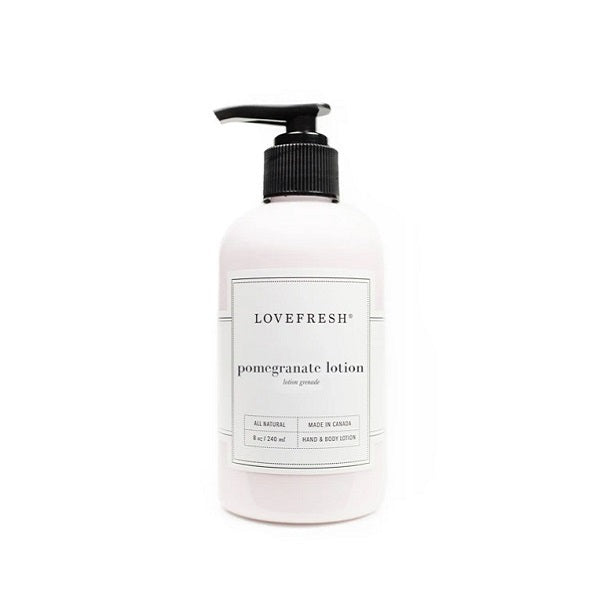 Pomegranate Hand & Body Lotion - Lemon Water Wellness