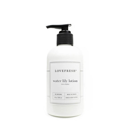 Water Lily Hand & Body Lotion - Lemon Water Wellness