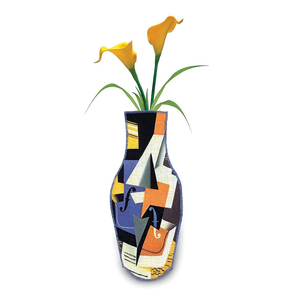 Barceloning Juan Gris Cotton Flower Vase-Boomingdutch