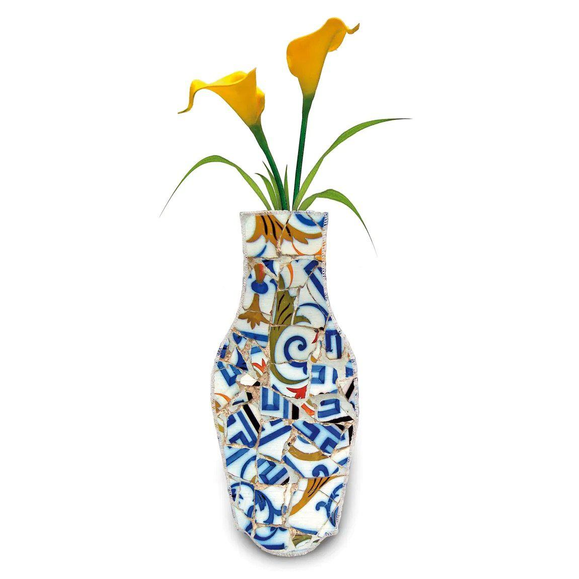Barceloning Trencazul Cotton Flower Vase-Boomingdutch