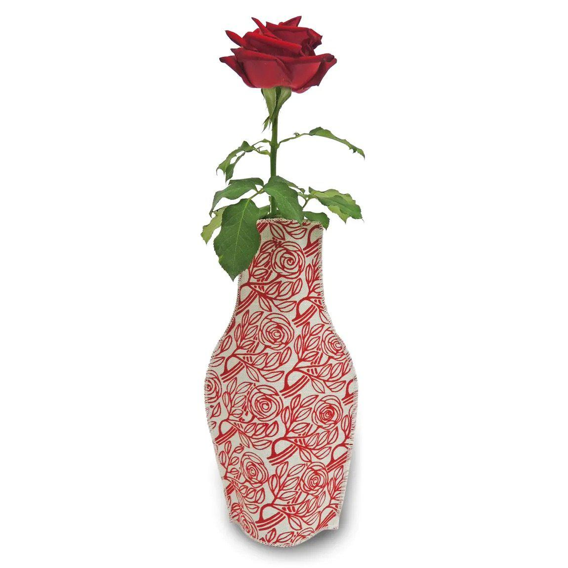 Barceloning Born Roses Cotton Flower Vase-Boomingdutch