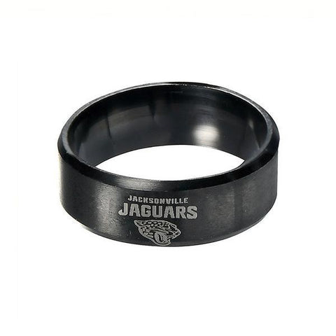 LIMITED EDITION JACKSONVILLE JAGUARS TITANIUM STEEL RING