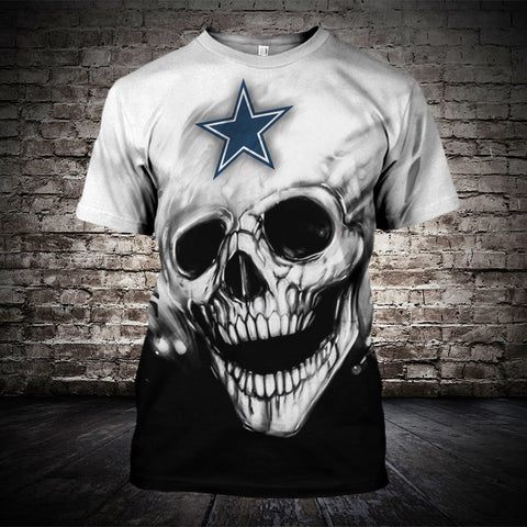 DALLAS COWBOYS MEN'S CLASSIC 3D T-SHIRT