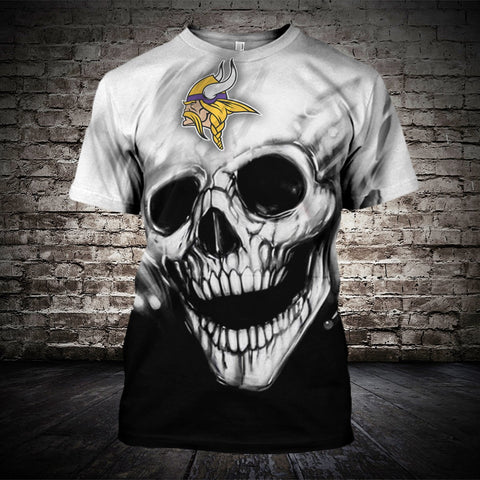 MINNESOTA VIKINGS MEN'S CLASSIC 3D T-SHIRT