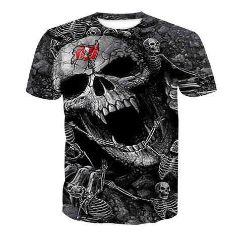 TAMPA BAY BUCCANEERS MEN'S CLASSIC 3D T-SHIRT
