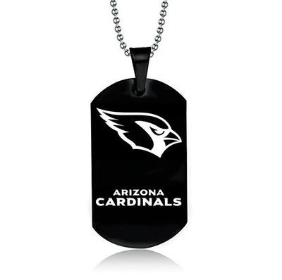 ARIZONA CARDINALS TITANIUM STEEL DOG TAG
