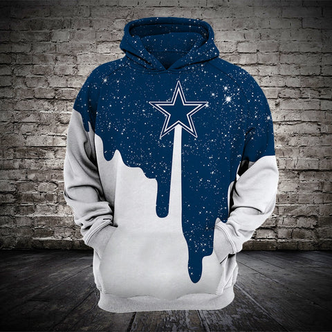 DALLAS COWBOYS MEN'S CLASSIC 3D HOODIE