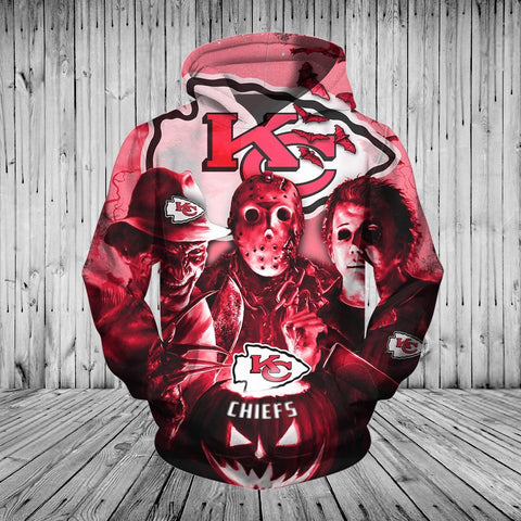 CHIEFS HOODIE HORROR MOVIE 3DHO10