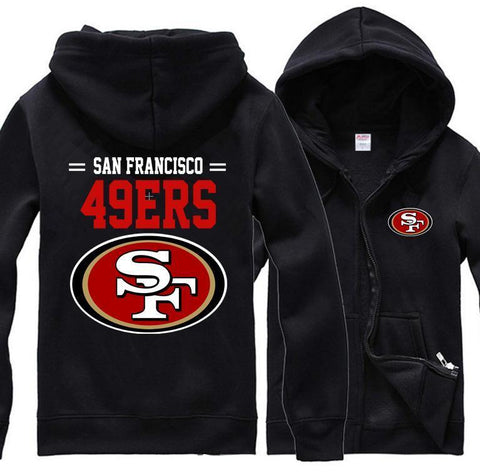 SAN FRANCISCO 49ERS CLASSIC UNISEX HOODIE