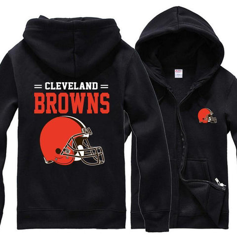 CLEVELAND BROWNS CLASSIC UNISEX HOODIE